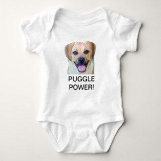 Puggle Power! Baby Bodysuit