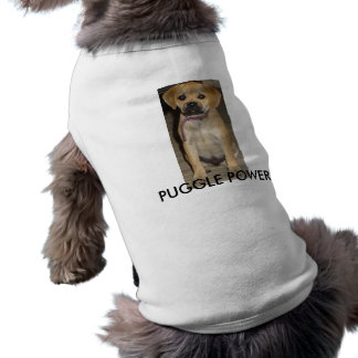 PUGGLE POWER DOGGIE T-SHIRT