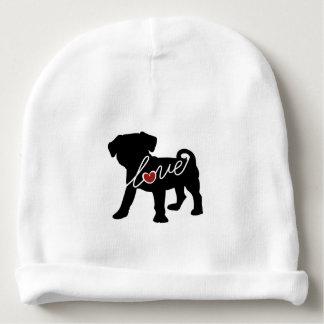 Puggle (Pug / Beagle) Love Baby Beanie