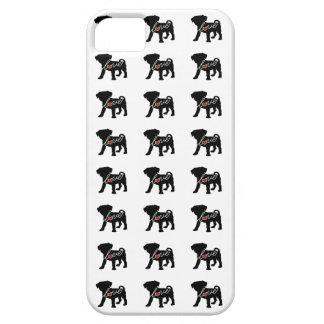 Puggle (Pug / Beagle) Love iPhone SE/5/5s Case