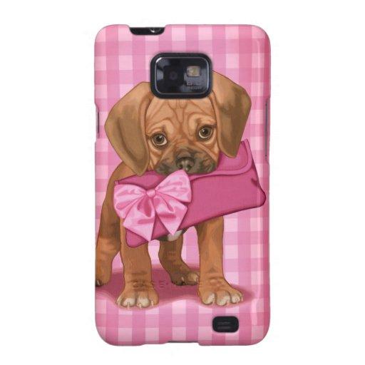 Puggle Puppy Samsung Galaxy S Cases