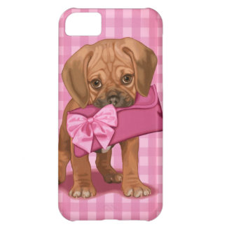 Puggle Puppy Cover For iPhone 5C
