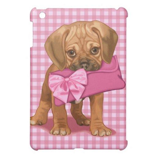 Puggle Puppy iPad Mini Cover