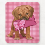 Puggle Puppy Mouse Pad