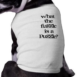 ¿Puggle? Camisetas Mascota