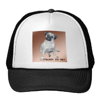 Puggle Talkin to Me Hat