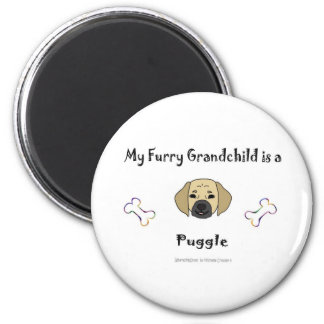 PuggleFawn Magnet