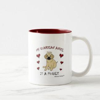 PuggleFawn Two-Tone Coffee Mug