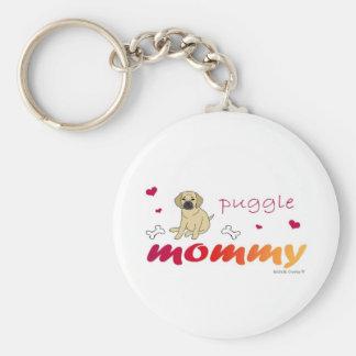 PuggleFawnMommy Keychain