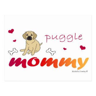 PuggleFawnMommy Postcard