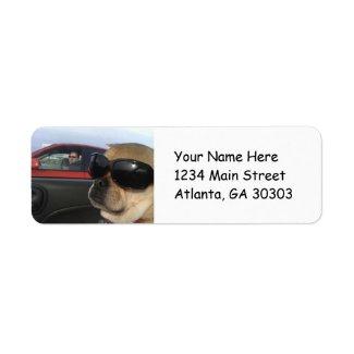 Cool Puggle Return Address Labels