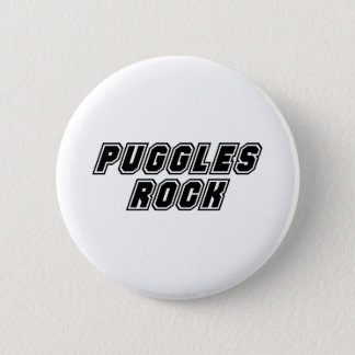 Puggles Rock Button