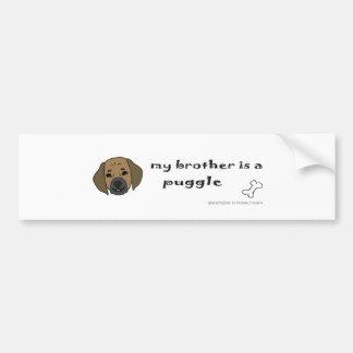 PuggleTanBrother Bumper Sticker