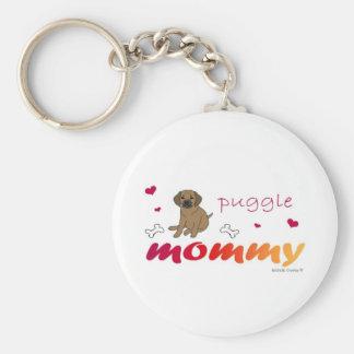 PuggleTanMommy Keychain