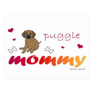 PuggleTanMommy Postcard