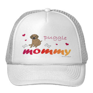 PuggleTanMommy Trucker Hat