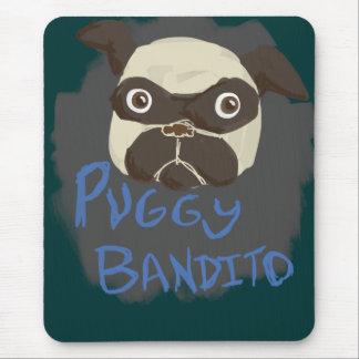 Puggy Bandito Mousepad