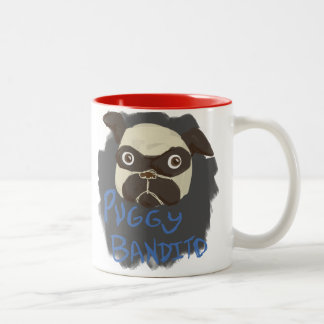 Puggy Bandito Mugs