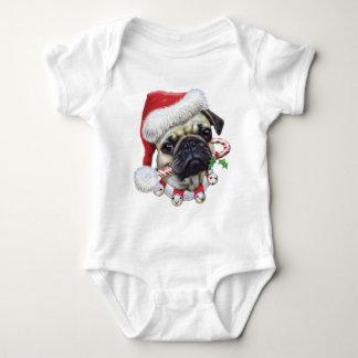 Puggy Christmas Tee Shirt