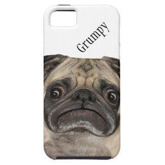 Puggy gruñón personalizado funda para iPhone SE/5/5s