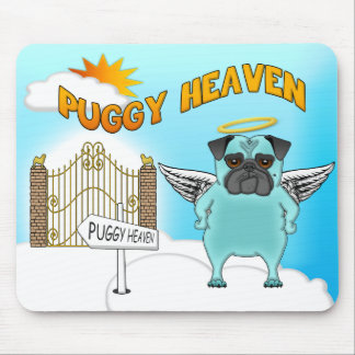 Puggy Heaven Mouse Pad