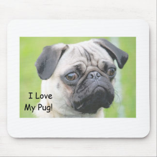 Puggy Mouse Pad