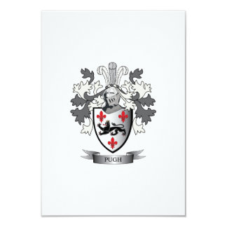 Pugh Family Crest Coat of Arms Card