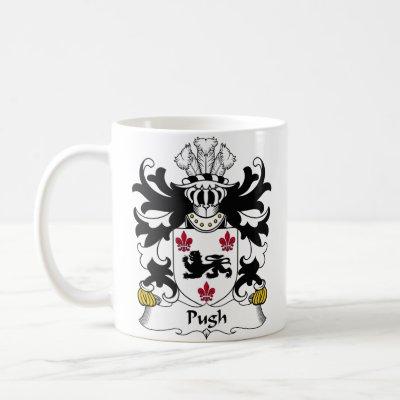 Pugh Family Crest Mugs by coatsofarms