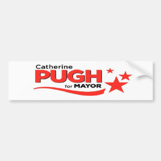Pugh for Mayor Bumper Sticker