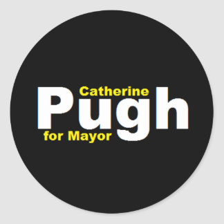 Pugh for Mayor Sticker