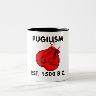Pugilismo Est 1500 A.C. Taza