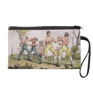 Pugilists plate 31 from The History of the Natio Wristlet