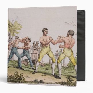 Pugilists, plate 31 from 'The History of the Natio Binder