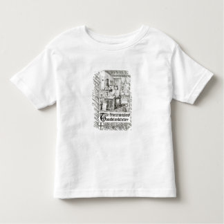 Pugin at work, frontispiece from 'True Principles Toddler T-shirt