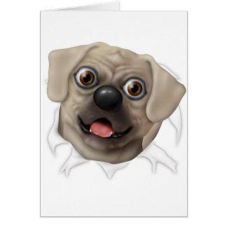 Pugle 2 - El reventar hacia fuera Tarjeta De Felicitación