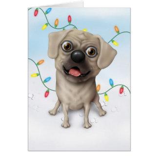 Pugle 2 - Tarjeta de Navidad