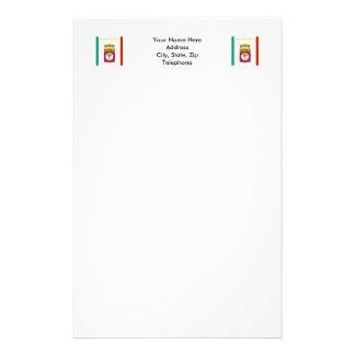 Puglia flag stationery