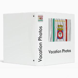 Puglia waving flag binder