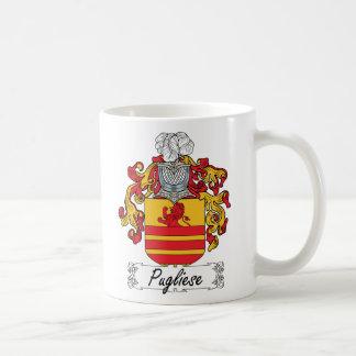 Pugliese Family Crest Classic White Coffee Mug