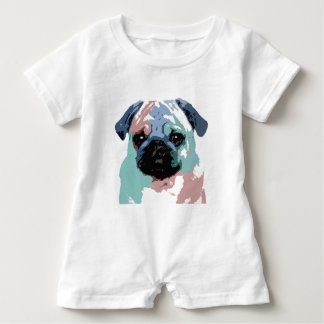 Pugly Baby Romper