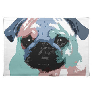 Pugly Cloth Placemat