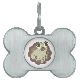 Pugly Dog Tag