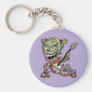 Pugly Ewster Keychain