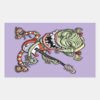 Pugly Ewster Rectangular Sticker