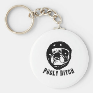 pugly key chains