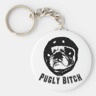pugly keychain