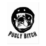 pugly post cards