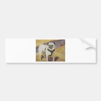 Pugnacious Love Bumper Sticker
