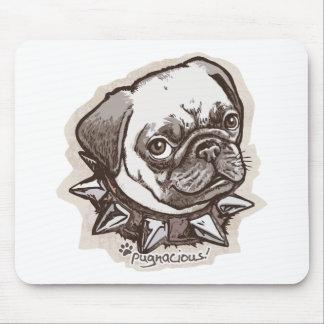 Pugnacious Pug by Mudge Studios Mouse Pad