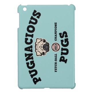Pugnacious Pugs iPad Mini Cover